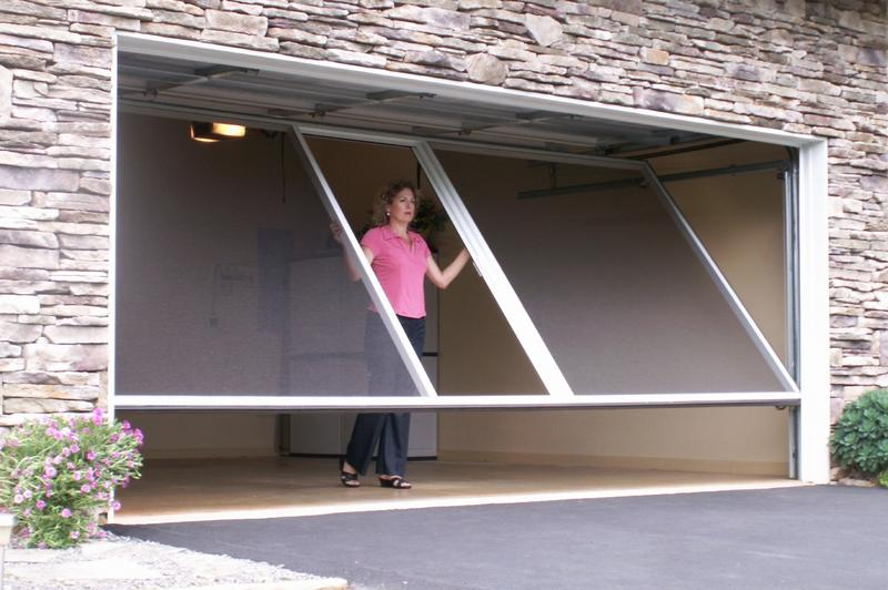 Product catalog for Roll up screen door for garage