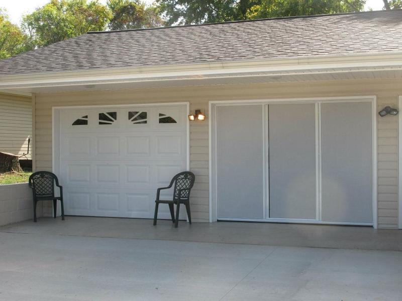 Garage Screen Enclosures With Sliders : Garage screens why lifestyle