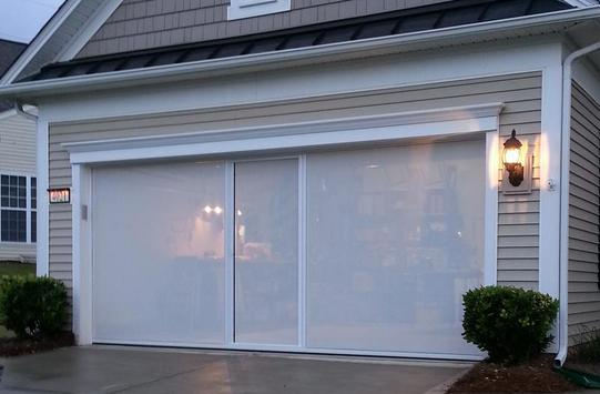 garage door screens retractableGarage Door Screens Lifestyle Screens Garage Screen Door System